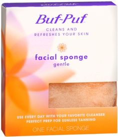 Buf-Puf Gentle Facial Sponge 1 Each