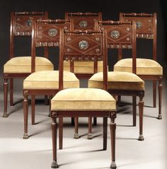 French Directoire & Consulat (1795-1804): Furniture Design , History   The Red List
