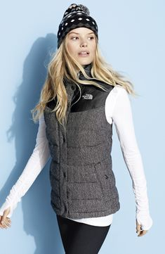 For the Fitness Fanatic: The North Face Vest, Zella Tee & Leggings