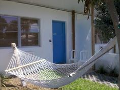 Seriously, what says relaxation more than a hammock?