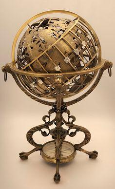Actual Earth Globe