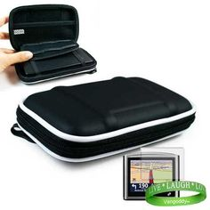 """Garmin GPS Navigator BLACK accessory, protective hard-shell portable carrying case with hand strap for Garmin GPS Navigator nuvi 765/765T+ 4.3"""" Widescreen GPS Screen Protector+VG *LIVE*LAUGH*LOVE* Wrist Band by VG. $8.85. * This is the perfectly Inexpensive way to protect and store your GPS from avoidable scratches, dirt, and dings!!! * Comes with added felt to Keep GPS Safe and Scratch-FREE!!! * Also Comes with Carbineer Clip and built in Mesh Pocket!!! * ***Garmin..."""