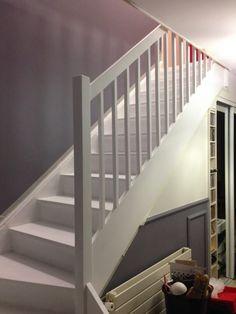 Stairways, Sweet Home, Villa, Interior, Design, Home Decor, Afin, Unique, White Staircase