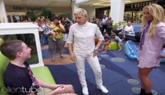 Ellen And Britney Spears Go Shopping At A Mall And Cause Chaos - Blooper News…