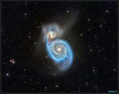 Messier 51 Whirlpool Galaxy