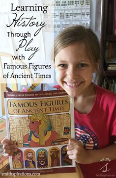Learning History Through Play with Famous Figures of Ancient Times