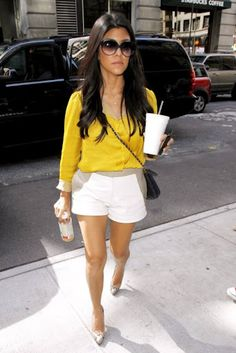 Kourtney is so pretty! And so is her outfit!
