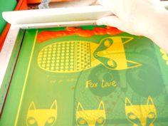 Ekran Wydrukowano skandynawski Kit Toy zrobić 4 Toy przez Janefoster sitodruk