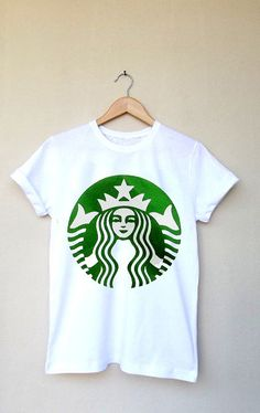Hey, I found this really awesome Etsy listing at http://www.etsy.com/listing/161849609/starbucks-logo-printed-t-shirt-top