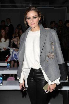 Olivia Palermo at London Fashion Week V