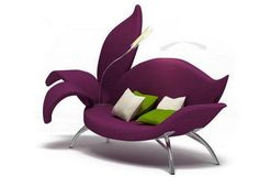 Sofa by Albina Basharova Inspired by Flower, Living Room Furniture Design