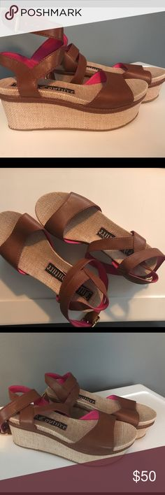 Juicy Couture (size 6) Juicy Couture (size 6) new and never worn Juicy Couture Shoes Platforms