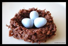 Birds Nest Treats - A Pumpkin And A Princess