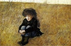 《 Faraway (Jamie Wyeth) 》 By-Andrew Wyeth