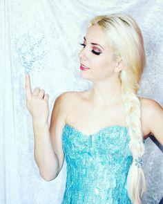 Elsa cosplay by Cara Cosplay
