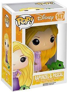 Disney Princess: Tangled - Rapunzel & Pascal Vinyl Figure (Bundled with Pop Box Protector Case) Disney Pop, Disney Tangled, Tangled Rapunzel, Disney Princess, Funko Pop Dolls, Figurines Funko Pop, Pop Vinyl Figures, Funko Pop Figures, Figurine Pop Disney