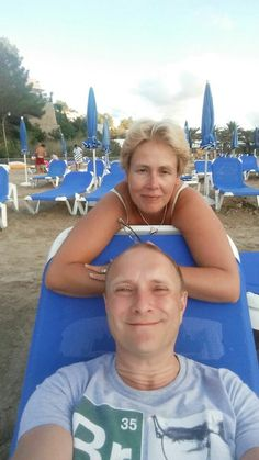 Ingrid and I in Ibiza August 2015
