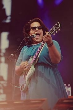 Brittany Howard from Alabama Shakes - Boys and Girls - http://www.youtube.com/watch?v=XQhXYJfI0S8