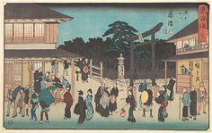 Fujisawa  Utagawa Hiroshige  (Japanese, 1797–1858)