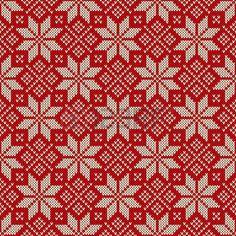 Nahtlose Muster Ornament auf der Wolle gestrickt Textur. EPS verfügbar