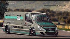 Mercedes - Benz Sprinter by MTK85 on DeviantArt