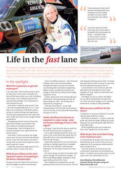 Life in the fast lane ~ Britcar champ Anna Walewska in the spotlight #locallife #motorsport #britcar #Hindhead #Surrey