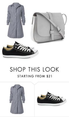 """""""Bez naslova #1"""" by sorc-268 ❤ liked on Polyvore featuring Converse and Gap"""