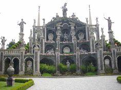 Isola Bella: the garden - Lake Maggiore Italy (my Country)