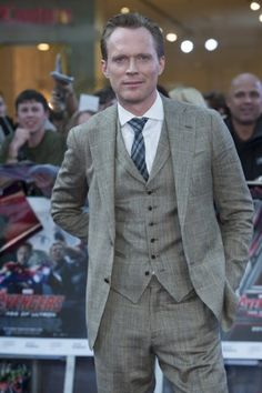 Paul Bettany at event of Avengers: Age of Ultron (2015)