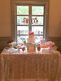 Bubbly Bar, Blush, Pink & Gold Bridal/Wedding Shower Party Ideas | Photo 3 of 39 | Catch My Party
