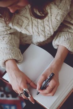 New Year's resolution: start a journal, just like Cassie. | Just Write: It's Time to Start a Journal | Free People Blog