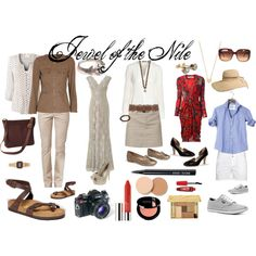 """'Jewel of the Nile' Inspired Wardrobe"" by susanmcu on Polyvore"