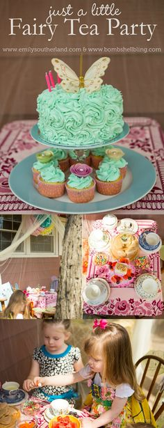 Just a Little Fairy Tea Party - I adore this idea for little girls!!
