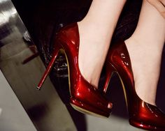 Dorothy has a new pair! Red high heels