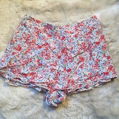Free People Shorts Free People shorts that are lightly used and in great condition. Elastic band at the back. Free People Shorts
