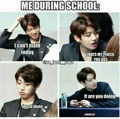 This book includes all funny BTS Memes and which are really very funny and relatable. And I am putting the MEMES which I found funny So al. Bts Memes Hilarious, Funny Relatable Memes, Funny Quotes, Hilarious Pictures, Memes Humor, Funny Humour, True Memes, Bts Bangtan Boy, Jimin