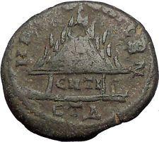 GORDIAN III 240AD Caesarea in Cappadocia Mount Argeus WALLS Roman Coin i56374
