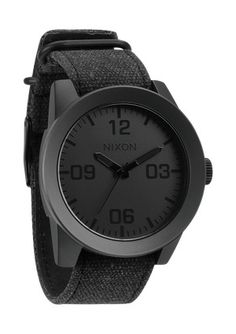 The Corporal. Reporting for duty is a watch that's simply, functional and rugged: the all new Corporal. With a Horween leather or canvas band, stainless and enamel case and a no-fuss, modern face design, it's tough enough to see you through your most hardcore assignments - and good enough to sport off-duty. I