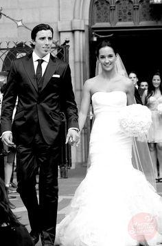 Marc-André Fleury (MAF) avec Veronqiue. Été 2012. Penguins Pittsburgh. #wedding #nhl #pens #fleury #mariage #robe