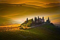 Tuscany, Val d'Orcia - Italy