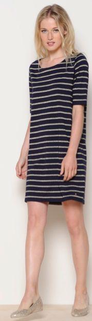 Classic marine stripe dress from Des Petits Hauts
