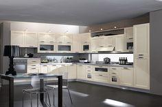 Επιπλα Κουζινας από Μασίφ ανάγλυφο ξύλο. | Ιταλικα επιπλα κουζινας-Dream Kitchen