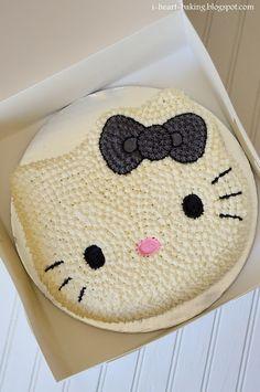 i heart baking!: hello kitty cake and cupcakes