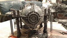 Warhammer Terrain, 40k Terrain, Wargaming Terrain, Warhammer 40k, Imperial Knight, Sci Fi Models, Warhammer Models, Fantasy Miniatures, Mini Paintings
