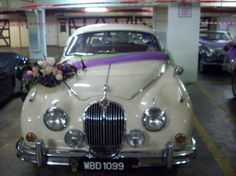 Beige Bridal Car ~ Jaguar - by Trinity Events Enterprise Bridal Car, Car Rental, Jaguar, Events, Entertaining, Beige