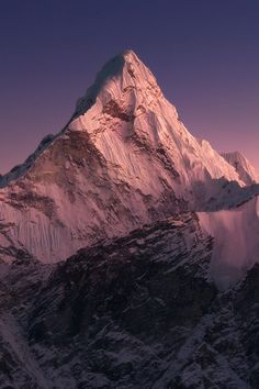 We were always a losing game — Source Mountain Photography, Landscape Photography, Nature Photography, Beautiful World, Beautiful Places, Monte Everest, Himalaya, Escalade, Mountain Landscape