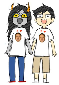 I don't really ship Vriska and John, but i think this picture is perfect!