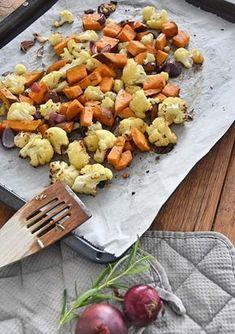 Bloemkool en zoete aardappel uit de oven | Goodfoodlove