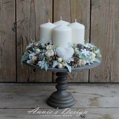 www.anniesdesign.hu Christmas Decorations, Table Decorations, Wax Melts, Advent, Candle Holders, Xmas, Wreaths, Candles, Pure Products