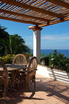 Casa Las Palmas - San Pancho, Mexico - 2 bedrooms - Beautiful Ocean Views  - For information and reservations click here: http://www.sanpanchorentals.com/2bedroom/casa_las_palmas.html Only $250 USD per night!